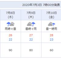 梅雨真っ盛り