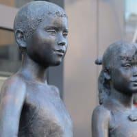 笹戸千津子「希望」 旭川の野外彫刻(17)