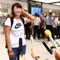記者たちが 渋野日向子プロを 絶賛しているのは!