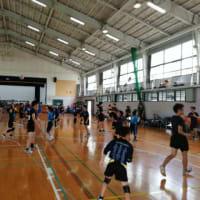 城北工業・山北高校、小中学生バレーボール練習会