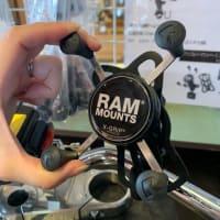ラムマウント バイク用スマホホルダー