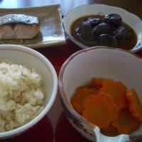 ひまわりでご飯とおかず3品を作った1(ひまわり)