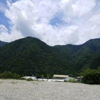 奈良県吉野郡十津川村谷瀬の風景
