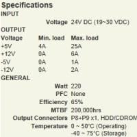産業用 AT電源ユニット ACE-925C-RS