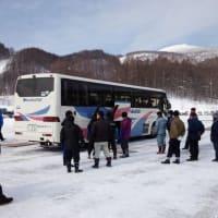 茨城県バス協会主催の雪道講習に参加しました。