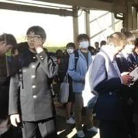 本日は、青春18きっぷで鳥取から大阪へ、鳥取では、高校生てんこもり