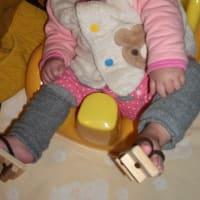 赤ちゃん用の下駄
