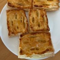 妻が作ったアップルパイ