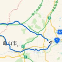 デローザで安楽越え〜青土ダム 〜鈴鹿峠