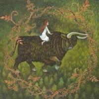 ノロウエイの黒牛・・イギリス・スコットランド
