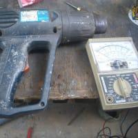 HG-10S ヒートガンの修理