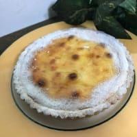「バナナ米粉シフォンケーキ」と「バナナクリームタルト」