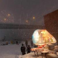 【もつけ祭り2020】猛吹雪の中の男の戦い