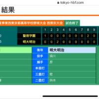 2020年夏 西東京大会2回戦 結果