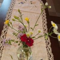 #0111 -'19. お花を活けて(8月2日の原村で)