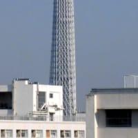 今朝の東京スカイツリー(2020/4/9)