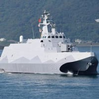 国産コルベット艦の量産開始 小型でも強力 蔡総統「台湾精神の象徴」