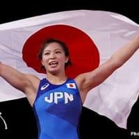 オリンピック レスリング 川井友香子 金メダル 女子62キロ級