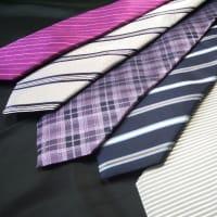 ネクタイ売り場も新作で一杯