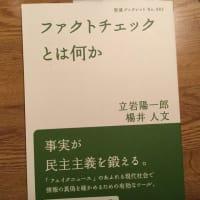 立岩陽一郎 楊井人文 『ファクトチェックとは何か』