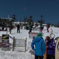 新潟県かぐらスキー場20190420