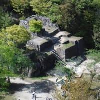 美濃・苗木城 樹木伐採整備で石垣の城郭が本来の姿をあらわした 見事!