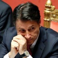 イタリア、コンテ首相が辞任 連立政権崩壊