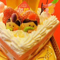 FLO(外神田)の「苺のひなまつりショートケーキ」