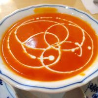 """西巣鴨駅ビル2F『ナバディップ』で再び""""カレーを頼まない!""""という荒業。娘はシーフードカレー&ナン、純野はナシゴレン&チーズナン+トマトスープで大満足・大満腹!"""