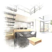 間取りの工夫と暮らし方の融合と構成内容の結果を生み出す考え方の部分・・・吹き抜けとリビング階段、環境を見据える暮らしの基準を大切に、毎日の暮らす基準値となる場所の空間設計デザインのカタチ。