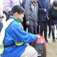 箕面市全体で行う大規模防災訓練「全市一斉総合防災訓練」を行いました