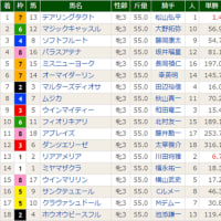 [秋華賞(G1)]デアリングタクト牝馬3冠! パラスアテナ悶絶の4着。。