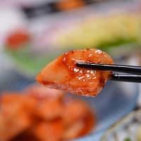 肉有り、魚有り、キムチ有り・・・