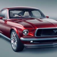 """ロシアの「Aviar Motors」は""""マスタング""""を再現したEVカスタムカー『R67』を初公開した!"""