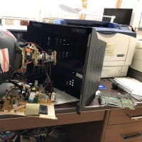 TV修理(修復不能)