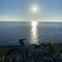 長崎、早朝ロードバイク、気持ちいいですね。