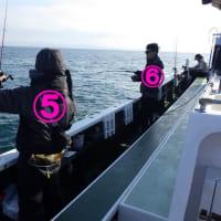 釣り座の位置の画像です