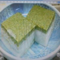 おばさんの料理教室No.3621 抹茶・ミルク羊羹