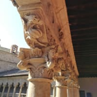 美しい回廊と黒い聖女~サラマンカまめ観光(5)