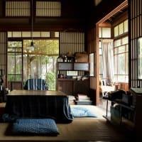 「モリのいる場所」の樹木希林さんの着物と山崎努さん