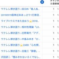 ウクレレ弾き語り>メロディカ演奏+阪神動画