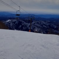 スキー3回目 鹿島槍