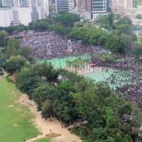 香港の抗議行動が支那へ飛び火する可能性も