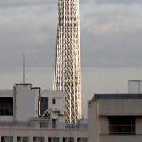 今朝の東京スカイツリー(2021/1/26)