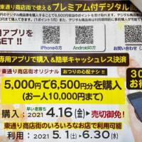 小田原駅前東通り商店街でお得なデジタル商品券!JSフードシステム