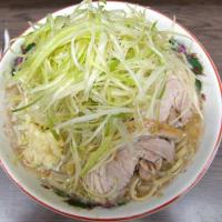 ラーメン二郎 横浜関内店 「小ラーメン+ネギ」