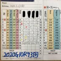 今日のゴルフ挑戦記(312)/東名厚木CC/イン(B)→ウエスト