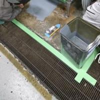 ホテル日航ハウステンボス様のレストラン厨房防水工事