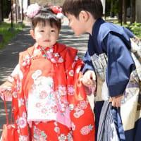 9/9 七五三・兄弟姉妹一緒に撮影♫ 札幌写真館フォトスタジオハレノヒ