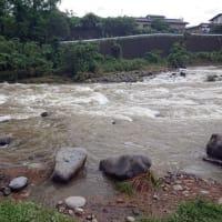 狩野川大増水、釣り可能は9月末か?